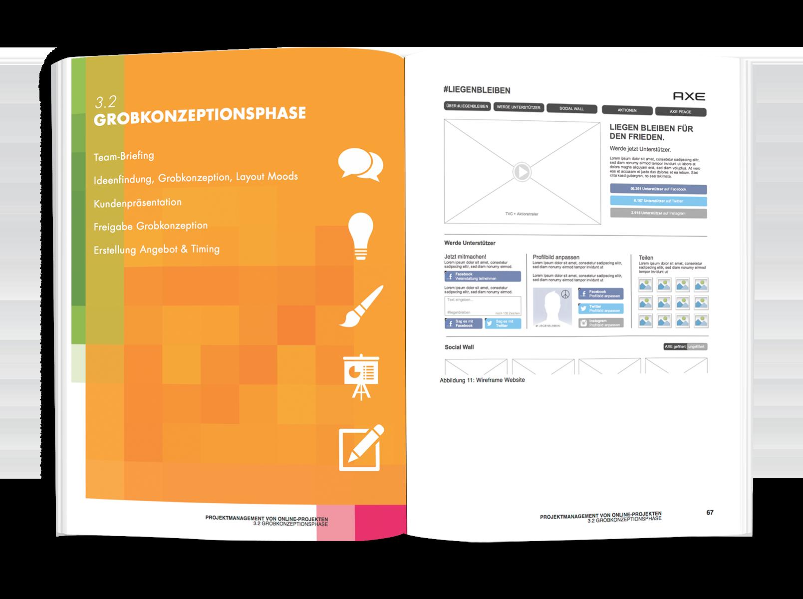 Projektmanagement von Online-Projekten - Abbildungen